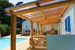 construction d une pergola en bois charpentes bois 64600 anglet