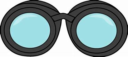 Binoculars Clip Clipart Detective Cliparts Graphics Booth
