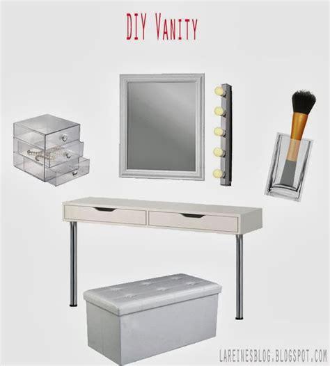 Diy Vanity Table Ikea by Schminktisch Selbermachen Aus Ikea Ekby Alex Regal Diy