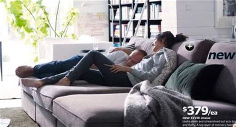 3 Ikea Kivik Chaises Together To Make A Gigantic Comfy