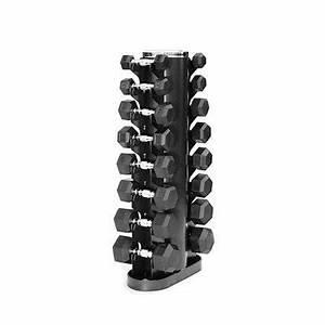 Troy Barbell GVDR-8 Vertical 8-Pair Dumbbell Rack ...