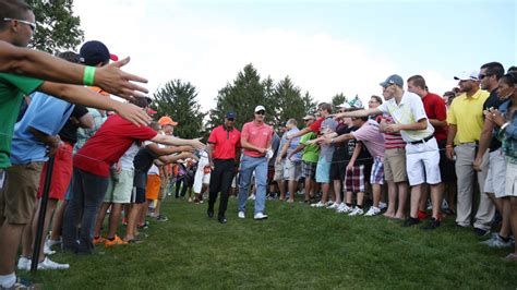 Tiger Woods almost crushed by overzealous autograph ...