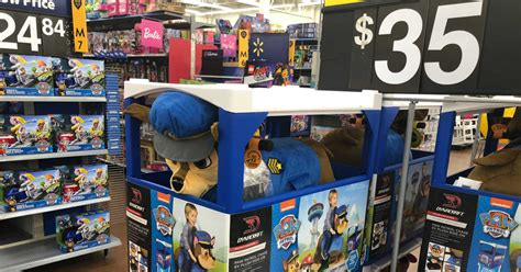 paw patrol plush ride  possibly    walmart