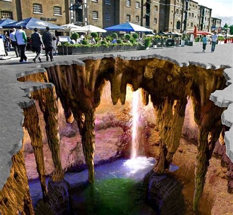 Awesome 3d Photo by The Most Amazing 3d Chalk I Seen