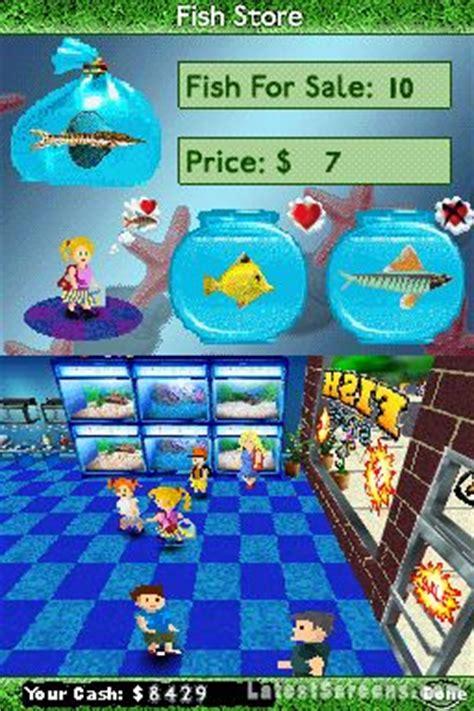 fish tycoon screenshots  nintendo ds iphoneipad