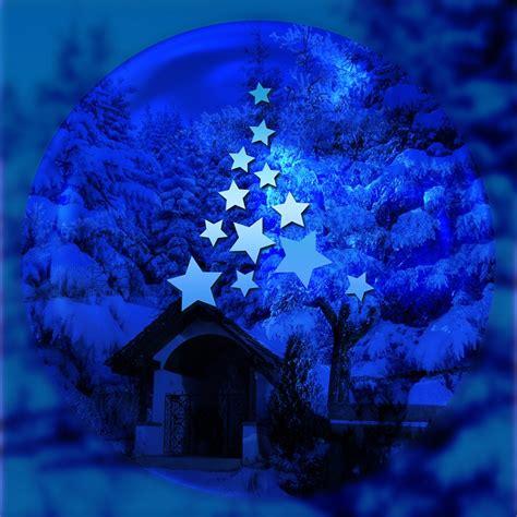 gratis illustration advent stjaerna jul julgran