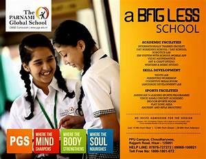 school admission leaflet design idea by sample Designer world