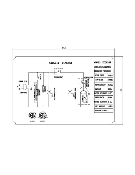 kelvinator refrigerator wiring diagram repair wiring scheme