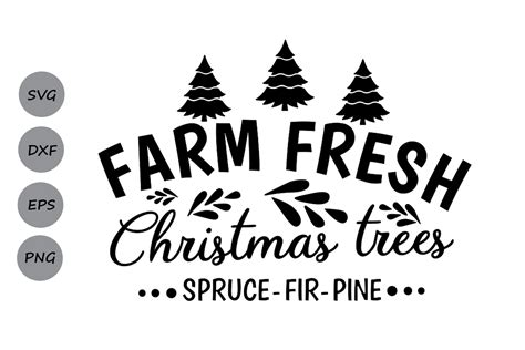 Download now the free icon pack 'tree icons'. farm fresh christmas trees svg, christmas svg, farm fresh.