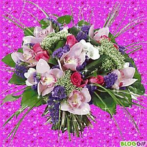 Beau Bouquet De Fleur : bouquets de fleurs scintillant ~ Dallasstarsshop.com Idées de Décoration