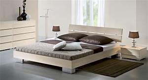 Moderne Betten Mit Led : bett in z b 90x200 cm gr e aus buchenholz sogno ~ Bigdaddyawards.com Haus und Dekorationen