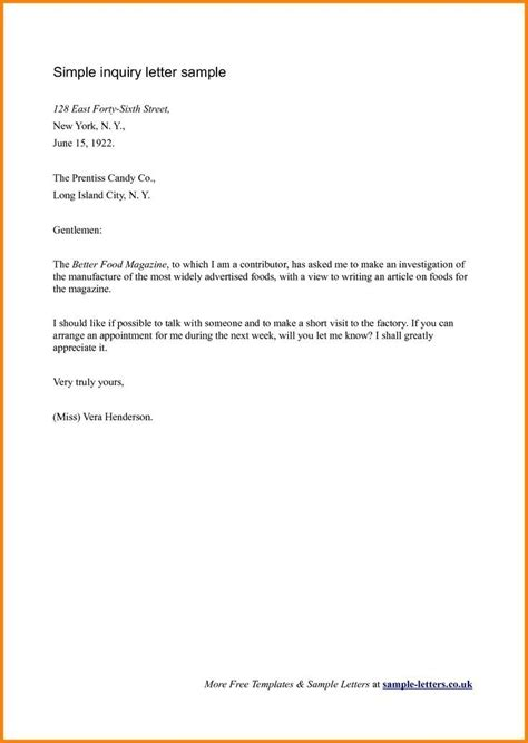 short business letter format letters  sample letters