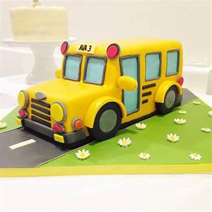 The Wheels on the Bus - Cakes by Robin