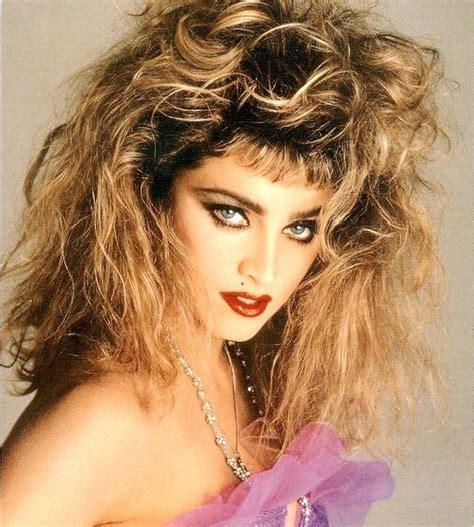 Madonna 80s Hairstyles by Madonna Madonna Madonna