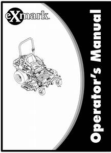 Exmark Lawn Mower 0 User Guide