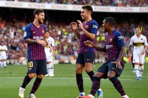 Joan Gamper : Barcelona 3 vs 0 Boca Juniors 15-08-2018   Barcelona HD