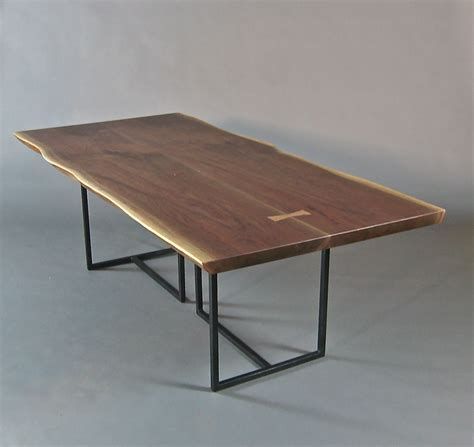 what is a live edge table hand crafted live edge dining table book matched walnut