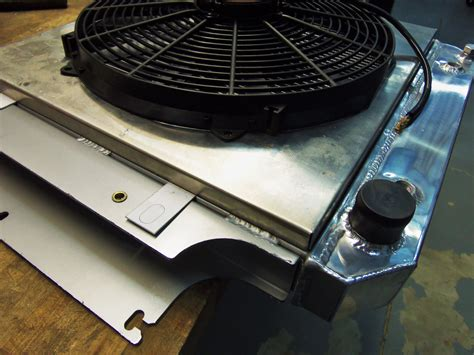 aluminum fan shroud fabrication improve the of your wrangler part 1 fabrication