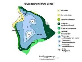 Climate Zones Big Island Hawaii