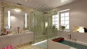 Tv Für Badezimmer : kleine exklusive b der badezimmer design by torsten m ller badkonzept fuer ein neues gaestebad ~ Markanthonyermac.com Haus und Dekorationen
