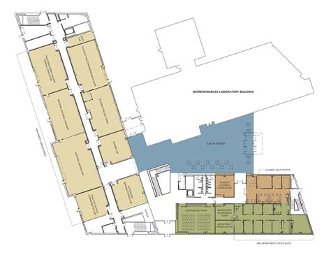 Building Floor Plans • Department Of Agricultural And