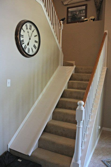 diy indoor stair    super easy tutorial