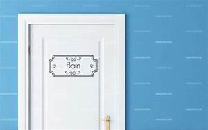 Stickers Porte Salle De Bain : stickers porte salle de bain ~ Dailycaller-alerts.com Idées de Décoration