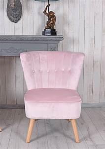 Sessel Rosa Samt : vintage sessel rosa samt samtstuhl 50er jahre stuhl cocktailsessel kaminsessel ebay ~ Frokenaadalensverden.com Haus und Dekorationen