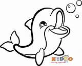 Coloring Dolphin Colouring Printable Bottlenose Marvelous Kidocoloringpages Easy Coloringages Adults Ocean Unicorn Teens Arlo Source Inspirations Neighborhood Activities Children Colour sketch template
