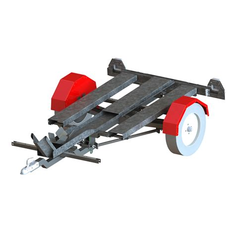 Folding Boat And Trailer by Motorbike Folding Trailer Boat And Kayak Folding Trailer