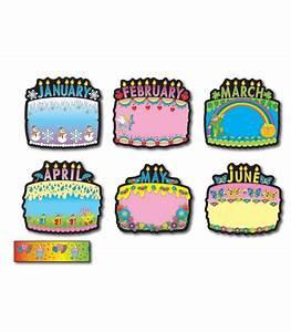 birthday cakes bulletin board set grade pk 5 With birthday bulletin board templates