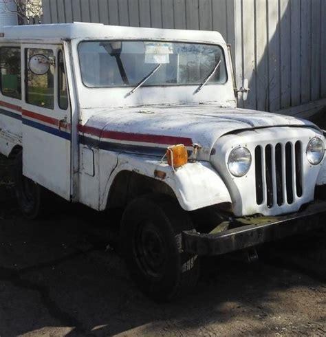 1983 AMG Jeep DJ 5L DJ5 Mail Truck Right Hand Drive Post