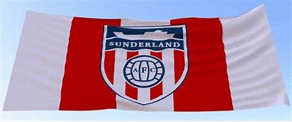 Safc Flags Sunderland Badge Flag