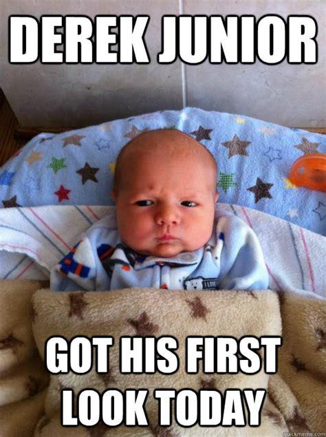 Derek Meme Derek Junior Got His Look Today Baby Zoolander