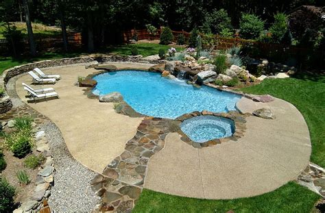 outdoor design trend  fabulous concrete pool deck ideas