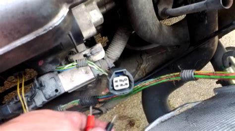 etm ets throttle position sensor volvo  limp  youtube