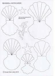 resultats de recherche dimages pour seashell template
