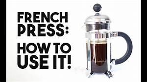 French Press Kaffeepulver : french press how to use it youtube ~ Orissabook.com Haus und Dekorationen