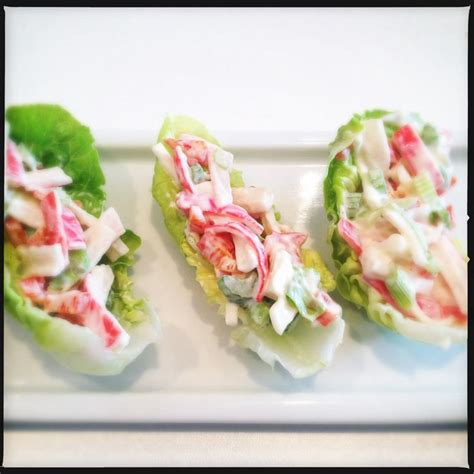 crab canapes canap yay 2 crab canapes but neater and with an