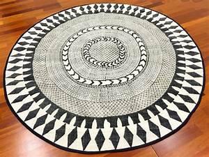 Runde Teppiche 250 Cm : runde teppiche marrakech rund schwarz grau wei ~ Bigdaddyawards.com Haus und Dekorationen