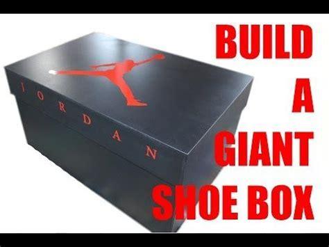 Build a Giant Nike Shoe Box for Storage   Workshop Addict