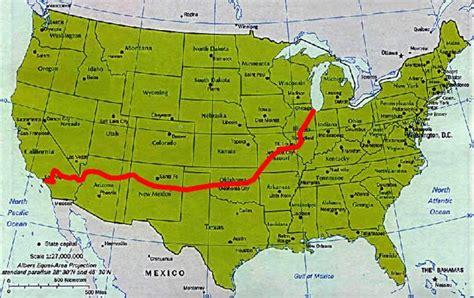 route  amerika route  private homepage von robert