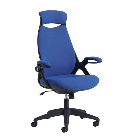 tuscan high back fabric managers chair with support