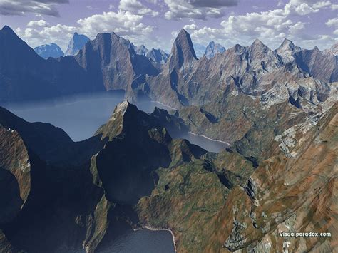 mountain ranges in free 3d wallpaper mountain range 1024x768