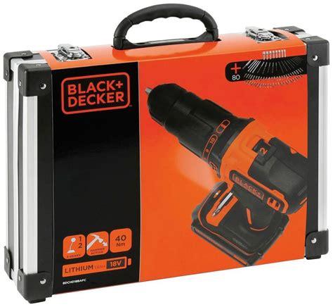 Black & Decker Bdchd18bafc 18v Akku Schlagbohrschrauber
