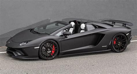 lamborghini aventador s roadster black one lamborghini aventador s roadster s presso black please carscoops