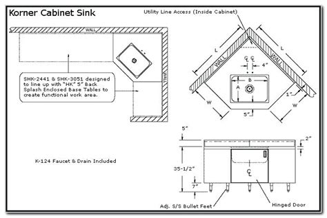 corner kitchen sink cabinet dimensions corner kitchen sink cabinet dimensions rapflava 8358