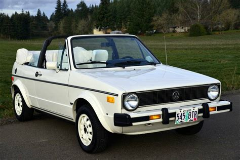 New & used volkswagen convertibles for sale. 1985 Volkswagen Rabbit Triple White, AC Convertible VW ...
