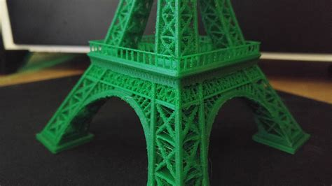 printed eiffel tower time lapse youtube