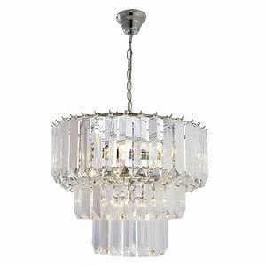 Chatsworth three tier pendant chandelier